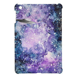 UFO in space artwork iPad Mini Cases