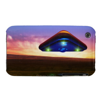 UFO Lights iPhone 3 Cases