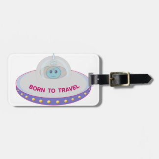 UFO LUGGAGE TAG