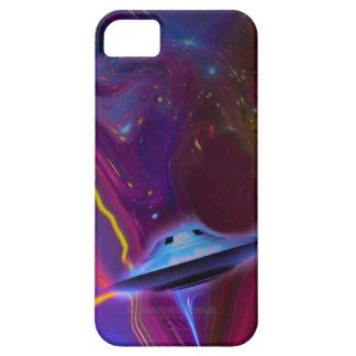 UFO Magenta Dimension Phone Case