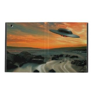 UFO Over Coast Case For iPad