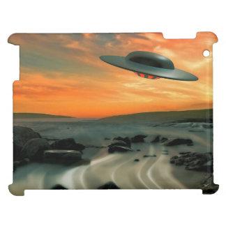 UFO Over Coast Cover For The iPad