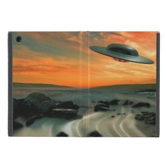 UFO Over Coast iPad Mini Cover