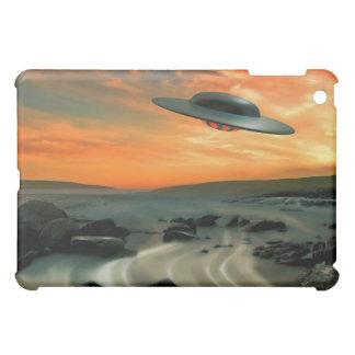 UFO Over Coast iPad Mini Covers