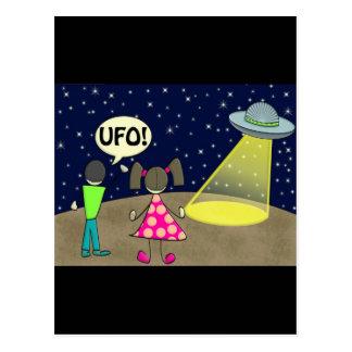 ufo postcards