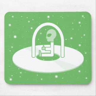 UFO Puzzle Mousepad