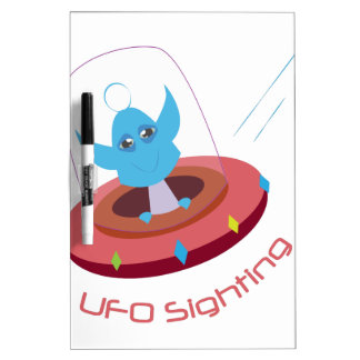 UFO Sighting Dry-Erase Boards