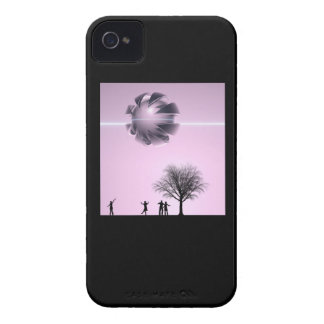 UFO Sighting iPhone 4 Case-Mate Cases