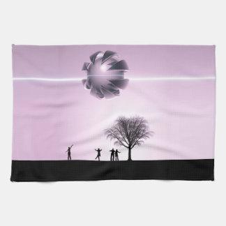 UFO Sighting Kitchen Towels