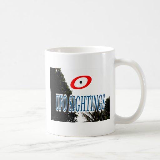 UFO SIGHTINGS COFFEE MUG