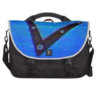 UFO Space Ship Laptop Bag