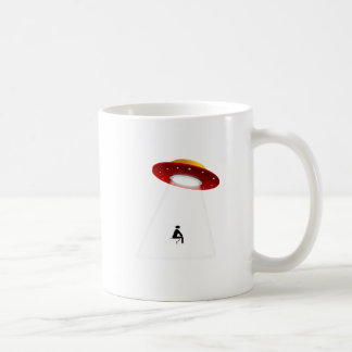 UFO Toilet Coffee Mug