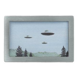 UFO Trio Belt Buckle