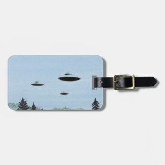 UFO Trio Luggage Tag