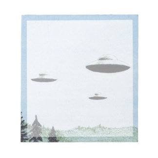UFO Trio Notepad