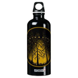 UFO Water Bottle Spaceship Art Bottles Customize