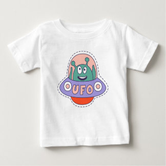 UFO With Alien Baby T-Shirt