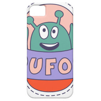 UFO With Alien Barely There iPhone 5 Case
