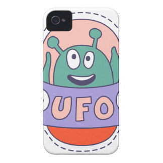 UFO With Alien iPhone 4 Covers