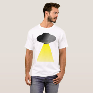 UFO With Tractor Beam T-Shirt