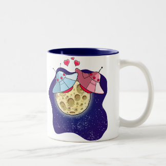 UFOs in Love Mug