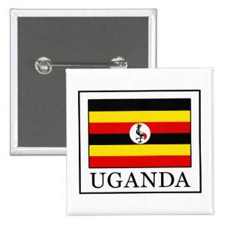 Uganda 15 Cm Square Badge