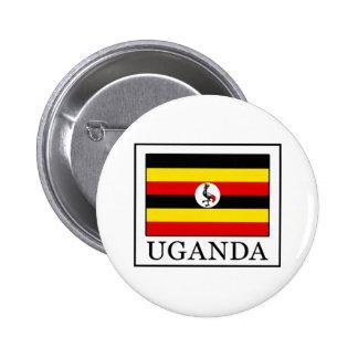 Uganda 6 Cm Round Badge