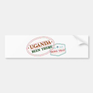 Uganda Been There Done That Bumper Sticker