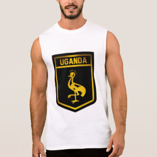 Uganda Emblem Sleeveless Shirt