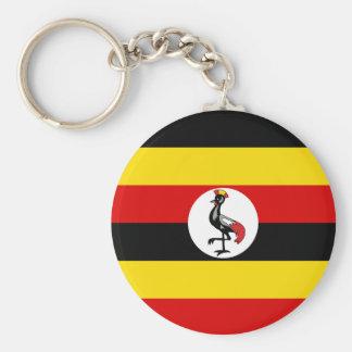 Uganda Flag Key Ring