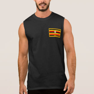 Uganda Flag Sleeveless Shirt