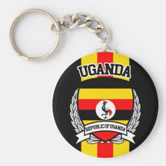 Uganda Key Ring