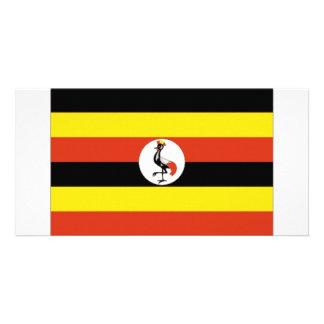 Uganda National Flag Photo Cards