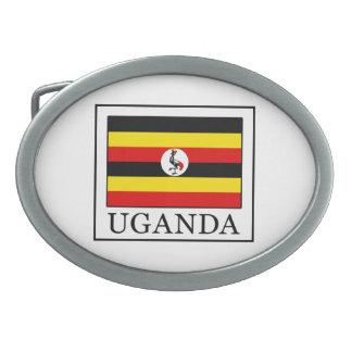 Uganda Oval Belt Buckle