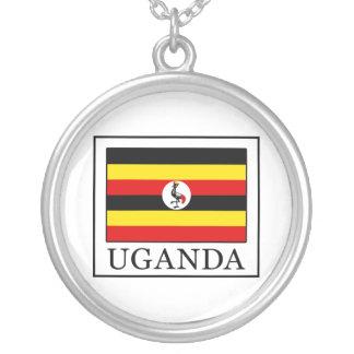 Uganda Round Pendant Necklace