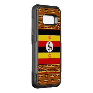 Uganda the pearl of Africa OtterBox Commuter Samsung Galaxy S8+ Case