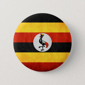 Uganda Tshirts and Accesories 6 Cm Round Badge