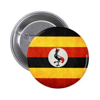 Uganda Tshirts and Accesories 6 Cm Round Badge