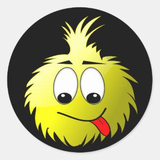 Uggles - Munch Round Sticker