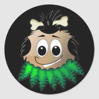 Uggles - Tiki Round Sticker