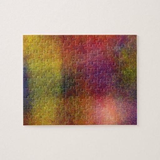 Ugly awful pattern jigsaw puzzles