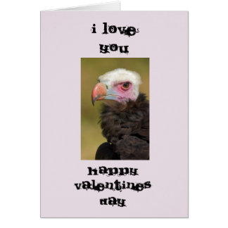 Ugly Bird Valentines Day Card