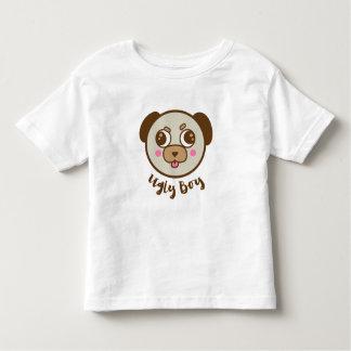 Ugly boy pug toddler T-Shirt