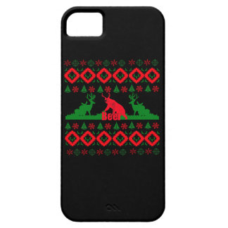 Ugly Christmas beer iPhone 5 Cases