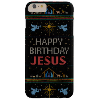 Ugly Christmas Sweater Christian Religious Jesus Barely There iPhone 6 Plus Case