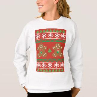 Ugly Christmas Sweater Girls' Sweatshirt