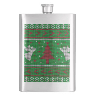 Ugly Christmas Sweater Hip Flask