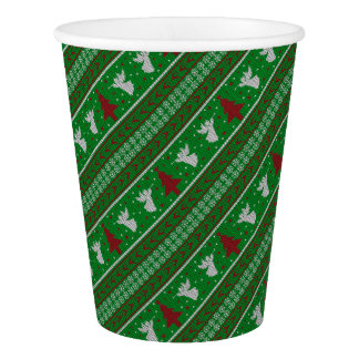 Ugly Christmas Sweater Paper Cup