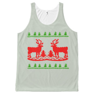UGLY CHRISTMAS SWEATER -.png All-Over Print Tank Top