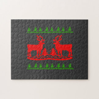 Ugly Christmas Sweater Jigsaw Puzzle